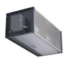 Berner Air Curtain Arc12 by 28 Berner Air Curtain Industrial Direct Drive 16 Amp 20