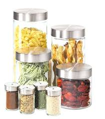 kitchen storage canisters storage canisters kitchen stunning glass canister set for kitchen