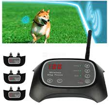 wireless invisible dog fence pet fence electronic fencing system