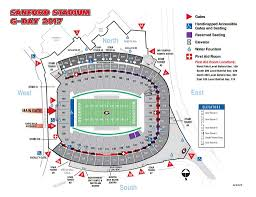 Uga Map Be In The Know Get Your Georgia G Day Info Here Bulldawg