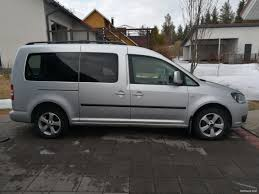 volkswagen caddy maxi comfortline 1 6 tdi 75 kw dsg mpv 2011