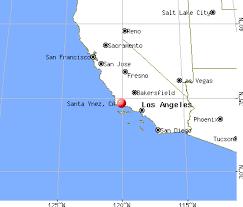 santa california map santa ynez california ca 93460 profile population maps