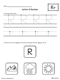 letter r review worksheet myteachingstation com