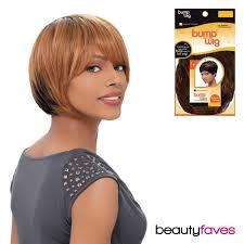 bump it sensationnel 100 human hair bump wig chic bob remy medium