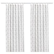 Ikea Curtain Length Emmie Knopp Curtains 1 Pair Ikea 14 99 Window Treatments