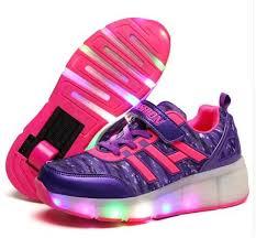heelys light up shoes children heelys led light fashion sneakers with wheels ultra light