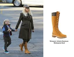 spotted gwen stefani rockin a combo winter wool with