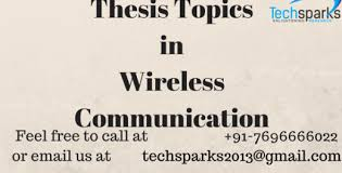 ece thesis topics thesis topics in wireless communication techsparks