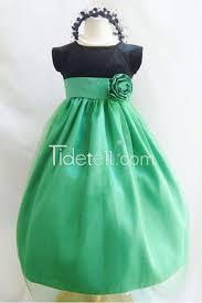 princess shamrock kelly green for less flower dress easter