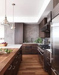 modern wood kitchen design a dark and handsome kitchen kitchens walnut cabinets and