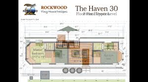 tiny plans the haven 30 tiny house floor plan and elevations youtube