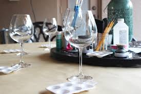 craft redux diy painted wine glasses eat drink and save money