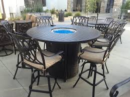global outdoors fire table gas fire pit chat set global outdoors table and chairs dining with