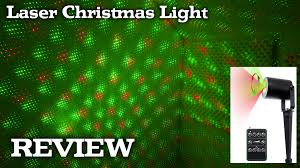 laser light projector for christmas holidays decorations review