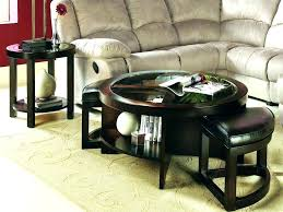table with stools underneath coffee table with stool square coffee table with stools underneath