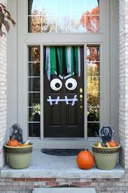 halloween garage door decorations halloween garage door
