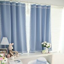 White Linen Blackout Curtains Cozy Cotton And Linen Blue Blackout Curtains Buy Blue Blackout