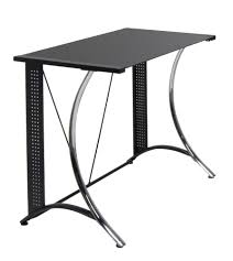 Omnirax Presto Studio Desk Black by Amazon Com Calico Designs 50401 Monterey Desk With Black Glass