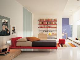 interior modern teenage boy bedroom apartment minimalist