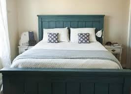Bed Frames Diy King Bed Frame Plans Farmhouse Bed Pottery Barn by Ana White Farmhouse Bed Calif King Diy Projects
