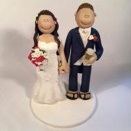 weight lifting cake topper and groom wedding cake toppers totally toppers