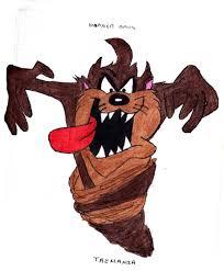 taz mania dibujos del demonio de tazmania a color taringa