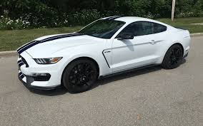 White Mustang With Black Wheels 2016 Ford Mustang Shelby Gt350 Instant Collector Car Review