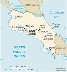 san jose airport on map list of airports in costa rica