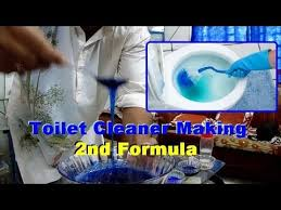 How To Make Your Own Bathroom Cleaner Toilet Cleaner Making Toilet Cleaner Formula How To Make Toilet