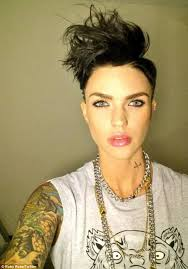 how to get ruby rose haircut ruby rose s hairstyle inspired by seinfeld s kramer ruby rose