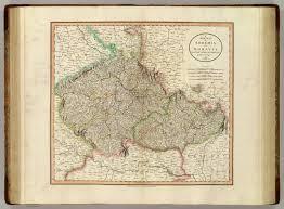 Bohemia Map Bohemia Moravia David Rumsey Historical Map Collection