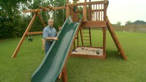how to maintain an outdoor wooden playset today u0027s homeowner