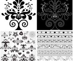 ornate decorative elements vector vector graphics