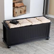 Diy Padded Storage Bench Bedroom Furniture Red Upholstered Storage Bench Minimalist