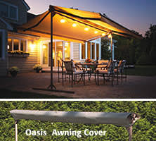 Free Standing Awning Sunsetter Oasis Freestanding Awning