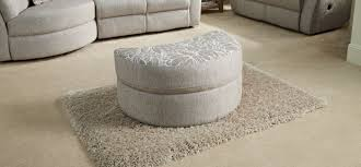 ottomans cushions for wicker furniture indoor half moon ottoman