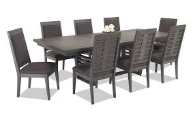 9 piece dining room set essex 9 piece dining set bob s discount furniture