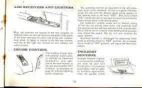 1965 cadillac owners manual