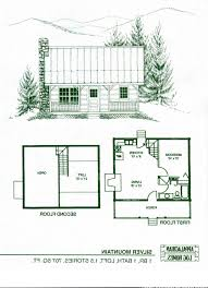 9 mountain cabin floor plans split plan home home and designs