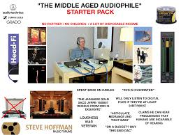 Audiophile Meme - the middle aged audiophile starter pack starterpacks