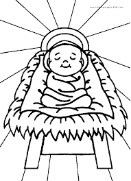 christian coloring pages for preschoolers baby jesus color page religious christmas color page coloring