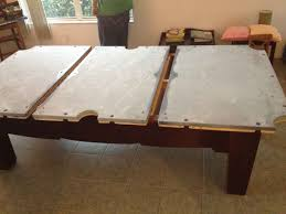 Pool Table Rails Replacement by Pool Table Movers Moving Recovering Teardown Orlando Miami Daytona