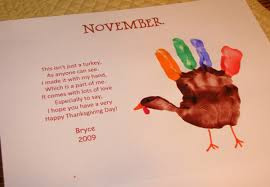 turkey handprint poem thanksgiving turkey