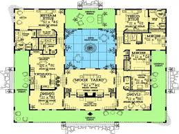 home design courtyard house plans 61custom contemporary amp