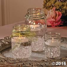 jar centerpiece ideas jar centerpiece idea use different colored stones candles
