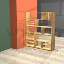 Woodworking Plans Rotating Bookshelf by Room Divider Bookshelf Woodself Free Plans For Woodworking