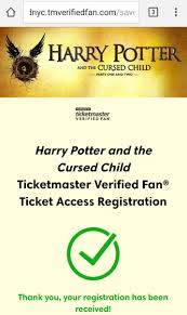 ticketmaster verified fan harry potter neil thaniel on twitter after 52 minutes accio harry potter