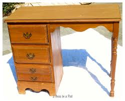 a big boy desk for a little client 2 bees in a pod