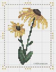 cross stitch flower patterns flower patterns for cross stitch