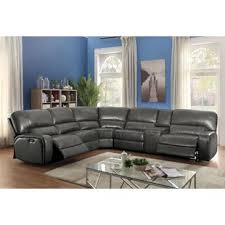 Leather Motion Sectional Sofa Leather Motion Sectional Wayfair